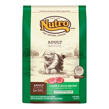 Nutro Limited Ingredient Diet Adult Dry Dog Food - Lamb & Rice Recipe