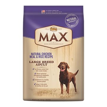 Nutro Max Large Breed Adult Dry Dog Food - Natural Chicken Meal & Rice Recipe