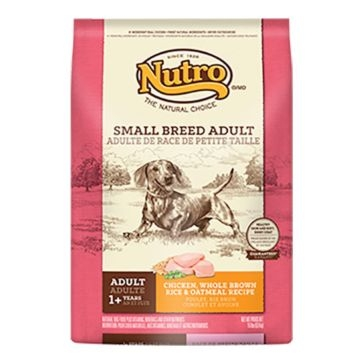 Nutro Small Breed Adult Dry Dog Food - Chicken, Whole Brown Rice & Oatmeal Recipe