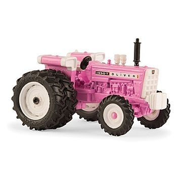 Oliver 1950T Pink Tractor 1:64