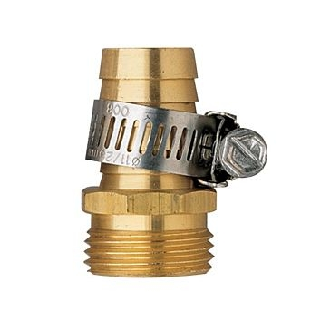 Orbit 5/8in Brass Shank Hose Mender Male