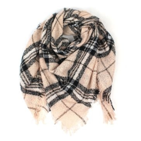 Quagga Boucle Blanket Scarf