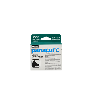 Panacur Canine Wormer 2-gram