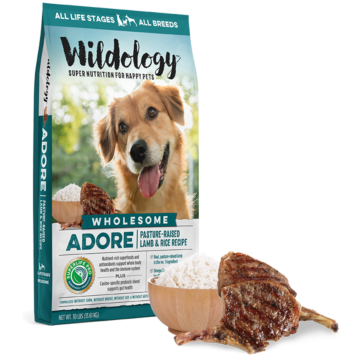 Wildology ADORE Lamb & Rice Dog Food 30lb