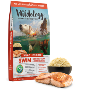 Wildology SWIM Salmon & Rice Dog Food 28lb