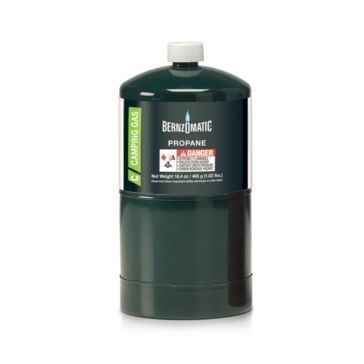BernzOmatic 16.4oz Disposable Propane Cylinder Camp Fuel 327774