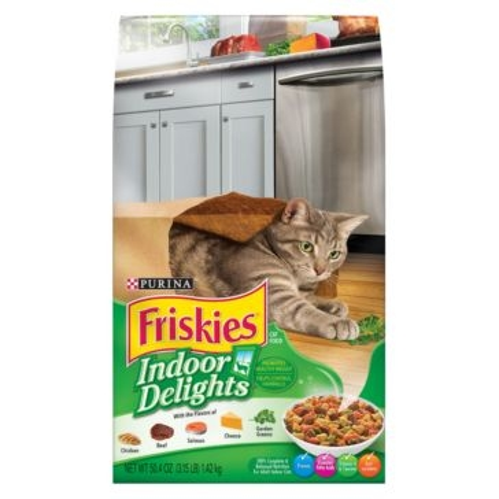 Purina Friskies Indoor Delight Dry Cat Food