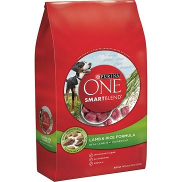 Purina One Smartblend Lamb & Rice Formula Adult Premium Dry Dog Food