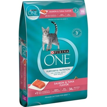 Purina One Salmon & Tuna Flavor Premium Dry Cat Food