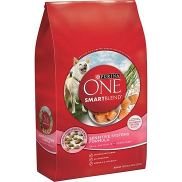 Purina One Smartblend Sensitive Systems Adult Formula Premium Dry Dog Food