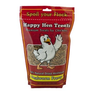 Happy Hen Mealworm Frenzy Chicken Treats 10oz