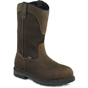 Irish Setter 11in Pull-On Waterproof Safety Work Boots