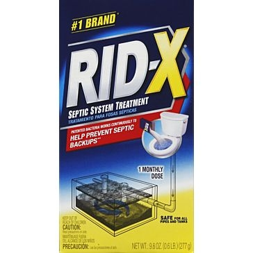 RID-X 9.8oz Septic System Tank Treatment Powder Form