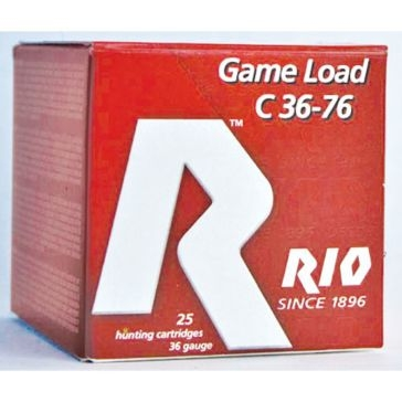 "Rio Sub-Gauge Game Loads .410ga 2-1/2"" 4 Shot  25RD"