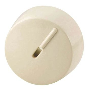 Cooper Ivory Dimmer Replacement Knob RKRD-V-BP