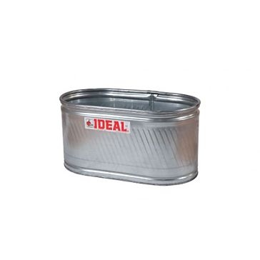 Applegate Ideal Round-End 174 Gal Galvanized Stock Tank