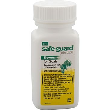 Safeguard Goat Dewormer 125ml