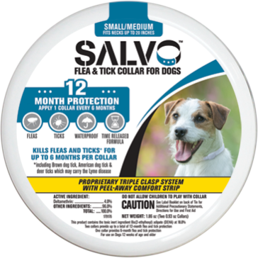 Salvo Small Dog Flea Collar