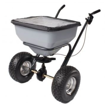 Precision Broadcast Push Spreader 130lb Capacity