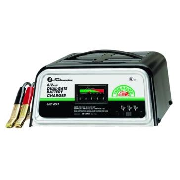 Schumacher SE-3002 Manual 6V/12V Battery Charger