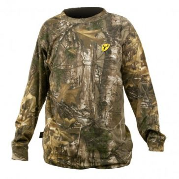 Scent Blocker Mens Long Sleeve Camo T-shirt