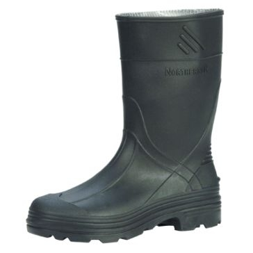 Servus Northerner Series Kids Splash Black Rubber Boots