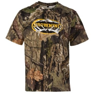 Browning Graphic T Sheds/Mossy Oak Break-Up Country
