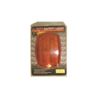 SMV Industries Battery Powered LED Amber Safety Light