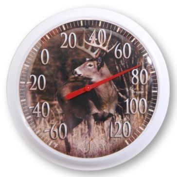 "Springfield 13.25"" Country Deer Thermometer"