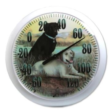 "Springfield 13.25"" Labrador Dogs Thermometer 90007-60"