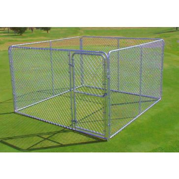SPS Fence Complete Wire Dog Kennel 10x10x6ft