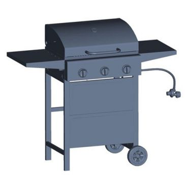 Big Horn 3-Burner BTU Gas Grill SRGG31403