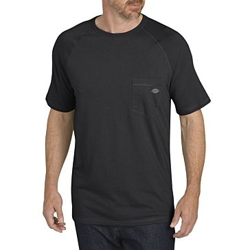 Dickies Temp-IQ Cooling T-Shirt Black 5XL Tall