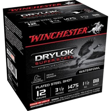 "Winchester Drylok Super Steel HV 12ga 3-1/2""  BB-Shot"