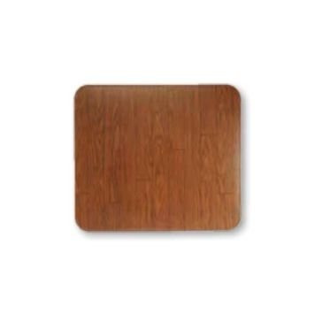 Gray Metal 32x42 Walnut Woodgrain Stoveboard