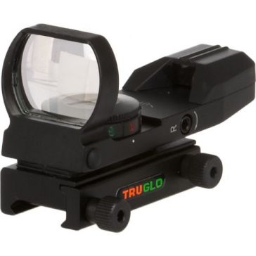 TruGlo Open Full Reticle Black Dual Color Scope