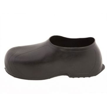 Tingley Ankle-Height Black Rubber Overshoes