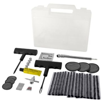 Monkey Grip 47-Piece Deluxe Tire Toolbox Maintenance Kit