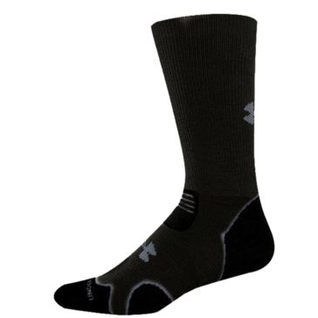 Under Armour Hitch Heavy Duty Cushion Boot Socks Black