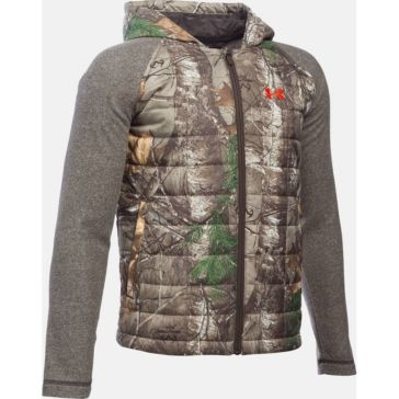 Under Armour Boys Hybrid Jacket - Realtree AP-Xtra