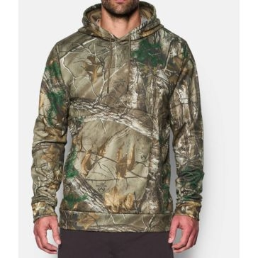 Under Armour Mens Storm Icon Camo Hoodie - Realtree AP-Xtra