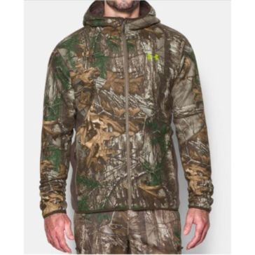 Under Armour Mens Stealth Fleece Jacket - Realtree AP-Xtra