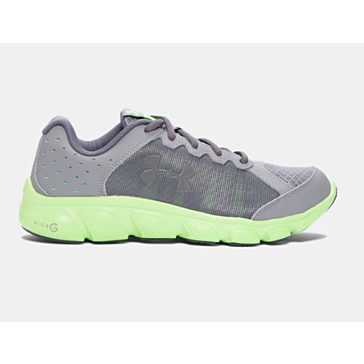Under Armour Boys Assert 6 Lime Shoe