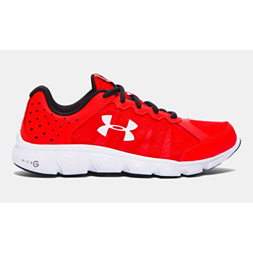 Under Armour Boys Assert 6 Red Shoe