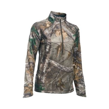Under Armour Womens Camo Camp 1/2-Zip Jacket 1283059