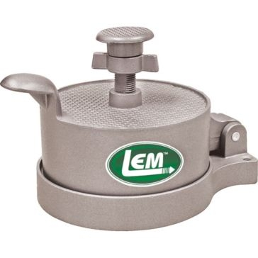 LEM Non-Stick Adjustable Burger Press 534