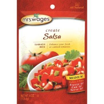 Mrs. Wages Medium Salsa Tomato Mix 4oz
