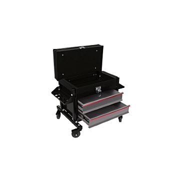 Performance Tool Rolling Tool Seat with Drawer