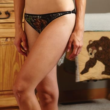 Wilderness Dreams Bikini Panty w/ Charm Camo