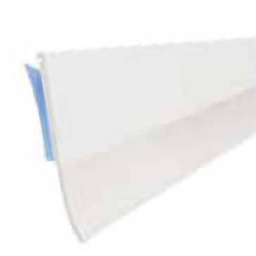 "Dennis 36"" White Self-Adhesive Vinyl Door Sweep"